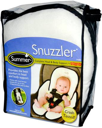 Snuzzler, Complete Head & Body Support from Birth - 1 Year by Summer Infant, 兒童健康,嬰兒,兒童,嬰兒旅行配件 HK 香港