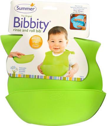 The Original Bibbity, Rinse and Roll Bib, 1 Bib by Summer Infant, 兒童健康,兒童食品,嬰兒餵養和清潔 HK 香港