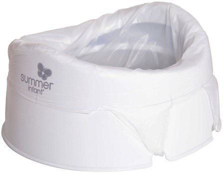 Time-To-Go, Travel Potty.18+ Months, Up To 50 lb (23 kg) by Summer Infant, 兒童健康,嬰兒,兒童 HK 香港