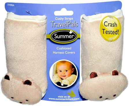 Travel Pals, Cushy Straps, 2 Harness Covers by Summer Infant, 兒童健康,嬰兒,兒童,嬰兒旅行配件 HK 香港