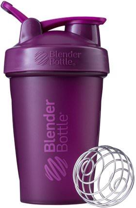 BlenderBottle, Classic With Loop, Plum, 20 oz by Sundesa, 家,廚具,杯碟碗 HK 香港