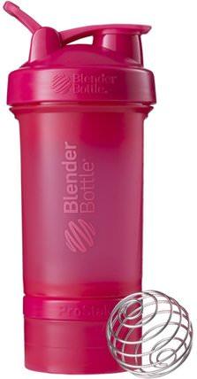 BlenderBottle, ProStak, Pink, 22 oz by Sundesa, 家,廚具,杯碟碗 HK 香港