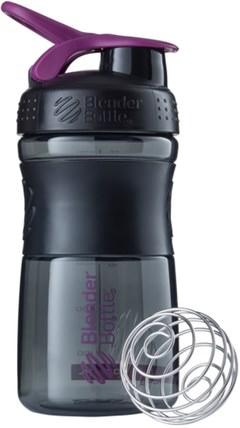 BlenderBottle, SportMixer Tritan Grip, Black-Plum, 20 oz by Sundesa, 家,廚具,杯碟碗 HK 香港