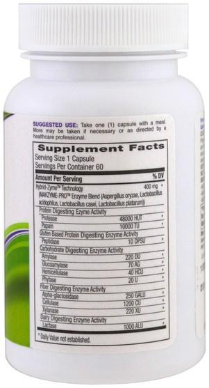 補充劑,酶 - Probulin, Advanced Care, Digestive Enzymes, 60 Capsules