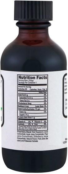 補品,水果提取物 - Natural Sources, Raspberry Concentrate Blend, 2 fl oz (60 ml)
