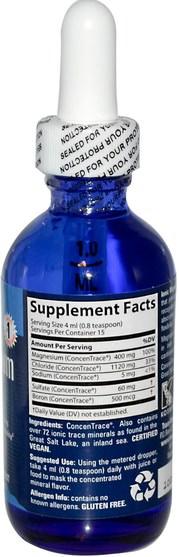 補品,礦物質,鎂 - Trace Minerals Research, Ionic Magnesium, 400 mg, 2 fl oz (59 ml)
