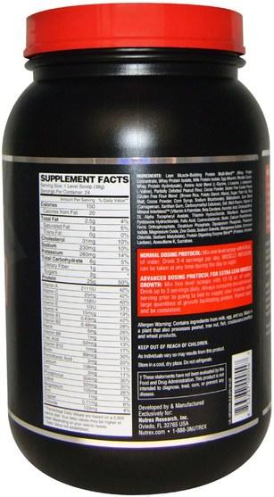 補充劑,蛋白質,運動,肌肉 - Nutrex Research Labs, Muscle Infusion, Advanced Protein Blend, Chocolate Peanut Butter Crunch, 2 lbs (908 g)