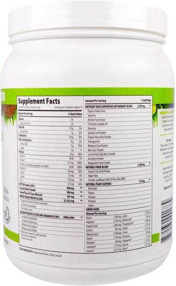 補品,蛋白質,超級食品 - Macrolife Naturals, MacroMeal Ultimate Superfood, Vanilla + Superfoods, 21.7 oz (615 g)