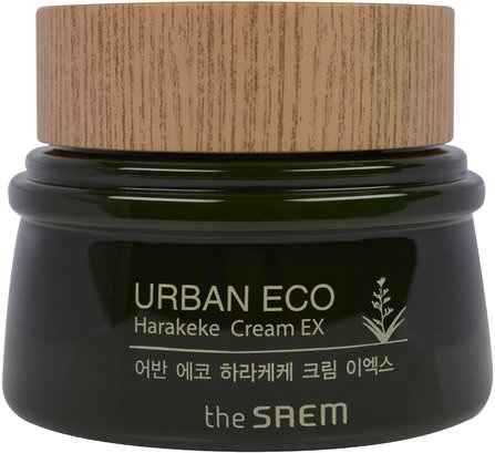 Urban Eco, Harakeke Cream EX, 2.02 fl oz (60 ml) by The Saem, 美容,面部護理,面霜,乳液,浴 HK 香港