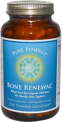 Bone Renewal, 150 Veggie Caps by The Synergy Company, 健康,骨骼,骨質疏鬆症 HK 香港