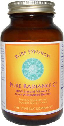 Pure Radiance C, Powder, 4 oz (120 g) by The Synergy Company, 維生素,維生素c HK 香港