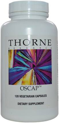 Oscap, 120 Vegetarian Capsules by Thorne Research, 健康,骨骼,骨質疏鬆症,更年期 HK 香港