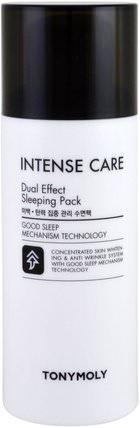 Intense Care, Dual Effect Sleeping Pack, 3.52 fl oz (100 ml) by Tony Moly, 健康,皮膚 HK 香港