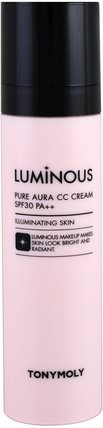 Luminous, Pure Aura CC Cream, SPF30 PA++, 1.69 oz (50 ml) by Tony Moly, 洗澡,美容,化妝 HK 香港