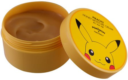 Pokemon, Honey Moisture Cream, Pikachu, 300 ml by Tony Moly, 美容,面部護理 HK 香港