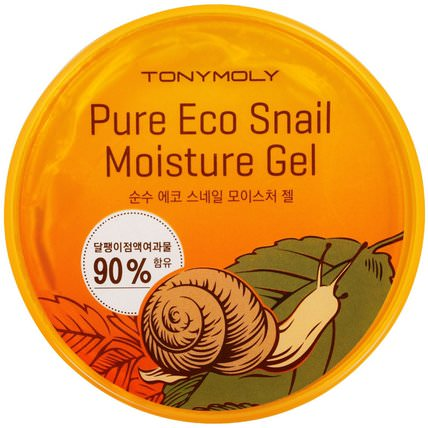 Pure Eco Snail Moisture Gel, 300 ml by Tony Moly, 洗澡,美容,護膚 HK 香港