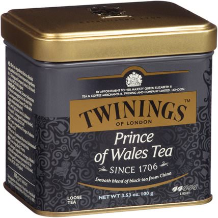 Prince of Wales Loose Tea, 3.53 oz (100 g) by Twinings, 食物,涼茶,紅茶 HK 香港