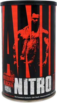 Animal Nitro, The Essential Anabolic EAA Stack, 44 Packs by Universal Nutrition, bcaa(支鏈氨基酸),補充劑,合成代謝補品 HK 香港