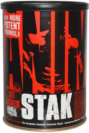 Animal Stak, Testosterone Optimizers, 21 Packs by Universal Nutrition, 健康,男人,睾丸激素 HK 香港
