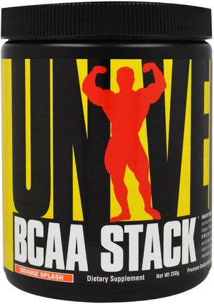 BCAA Stack, Orange Splash, 250 g by Universal Nutrition, bcaa(支鏈氨基酸) HK 香港