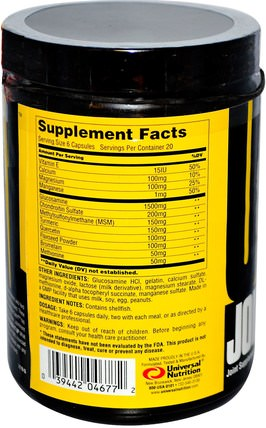 Jointment Sport, Athlete-Tested Joint Formula, 120 Capsules by Universal Nutrition, 骨,骨質疏鬆症,關節健康 HK 香港