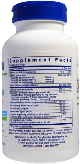 維生素,多種維生素 - Life Extension, Once Daily Health Booster, 60 Softgels