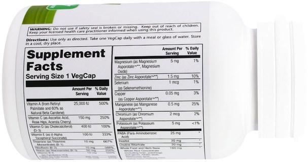 維生素,多種維生素 - Solaray, Once Daily High Energy, Multi-Vita-Min, 90 VegCaps