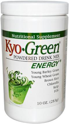 Kyo-Green, Powdered Drink Mix, 10 oz (283 g) by Wakunaga - Kyolic, 補品,超級食品,綠色蔬菜 HK 香港