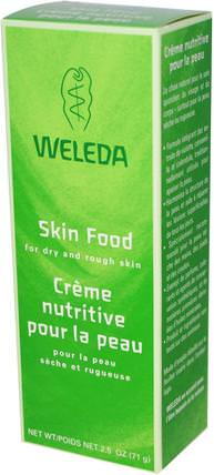 Skin Food, 2.5 oz (71 g) by Weleda, 美容,面部護理,面霜,乳液,沐浴,潤膚露 HK 香港