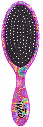 Happy Hair Detangler Brush, Daisy, 1 Brush by Wet Brush, 洗澡,美容,頭髮,頭皮 HK 香港