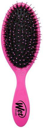 Wet Brush, Shine Brush, Pink, 1 Brush 洗澡,美容,頭髮,頭皮