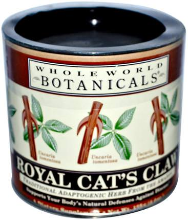 Royal Cats Claw, 4.4 oz (125 g) by Whole World Botanicals, 草藥,貓爪(ua de gato) HK 香港