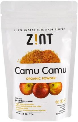 Camu Camu Organic Powder, 3.5 oz (99 g) by Z!NT, 補品,超級食品,抗氧化劑 HK 香港