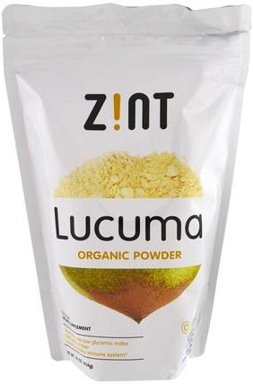 Lucuma, Organic Powder, 16 oz (454 g) by Z!NT, 補品,超級食品 HK 香港