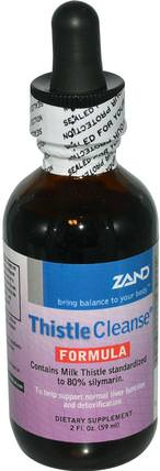 Thistle Cleanse Formula, 2 fl oz (59 ml) by Zand, 健康,排毒 HK 香港