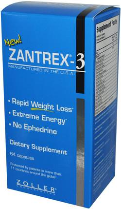 Zantrex-3, Rapid Weight Loss, 84 Capsules by Zoller Laboratories, 健康,飲食 HK 香港