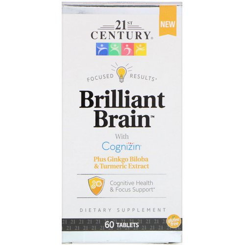21st Century, Brilliant Brain, 60 Tablets Review