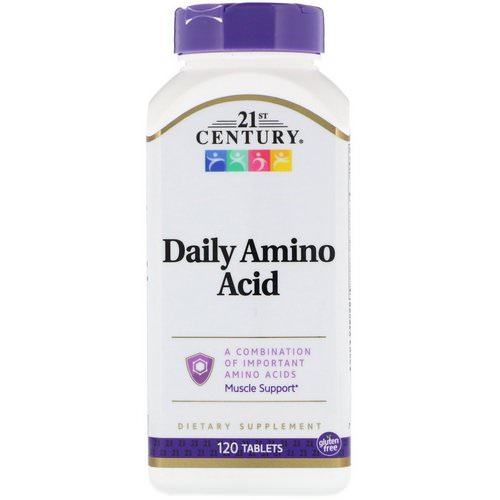 21st Century, Daily Amino Acid, 120 Tablets Review