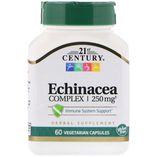 21st Century, Echinacea Complex, 250 mg, 60 Vegetarian Capsules Review