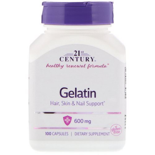 21st Century, Gelatin, 600 mg, 100 Capsules Review