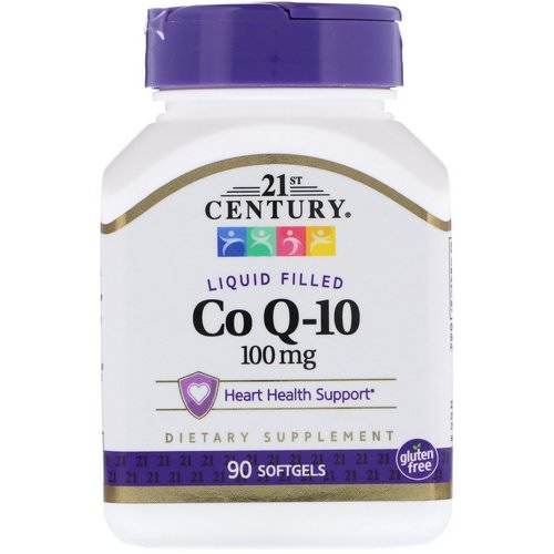21st Century, Liquid Filled Co Q-10, 100 mg, 90 Softgels Review