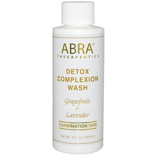 Abra Therapeutics, Detox Complexion Wash, Grapefruit & Lavender, 4 fl oz (120 ml) Review