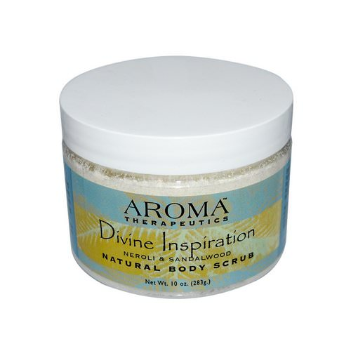 Abra Therapeutics, Natural Body Scrub, Divine Inspiration, Neroli & Sandalwood, 10 oz (283 g) Review