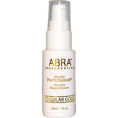 Abra Therapeutics, Organic PhytoSerum, Intesive Flower Infusion, Cellular Gold, 1 fl oz (30 ml) Review