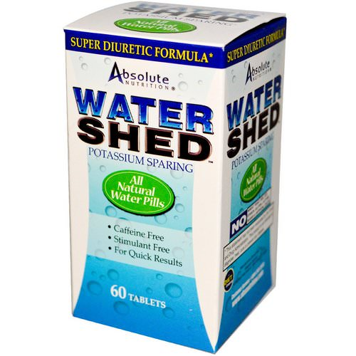 Absolute Nutrition, Watershed, 60 Tablets Review