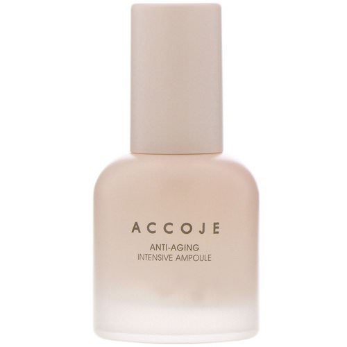 Accoje, Anti-Aging, Intensive Ampoule, 30 ml Review