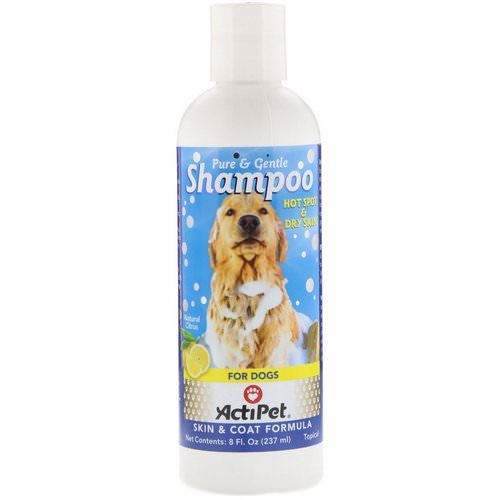 Actipet, Pure & Gentle Shampoo for Dogs, Natural Citrus, 8 fl oz (237 ml) Review