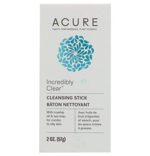 Acure, Incredibly Clear Cleansing Stick, 2 oz (57 g) Review