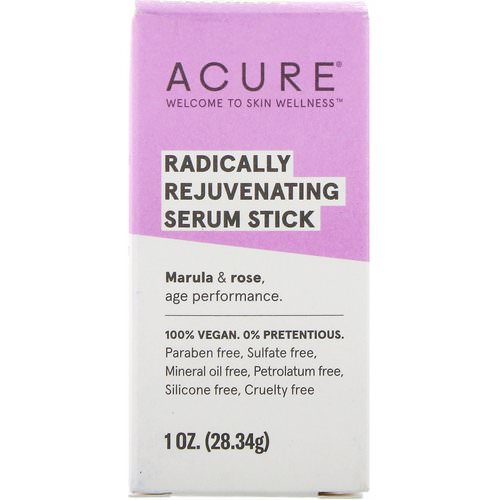 Acure, Radically Rejuvenating, Serum Stick, 1 oz (28.34 g) Review