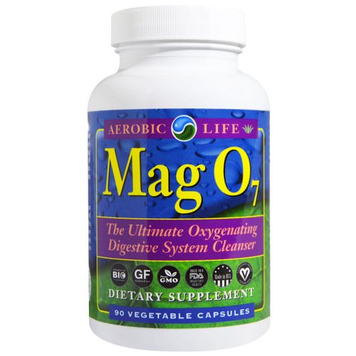 Aerobic Life, Mag 07, The Ultimate Oxygenating Digestive System Cleanser, 90 Veggie Caps Review